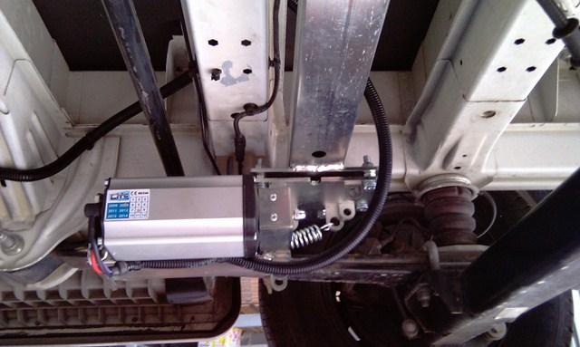 Autolift System Piedini Elettrici Per Livellare Il Camper By Tesa
